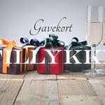 Gavekort | Tillykke