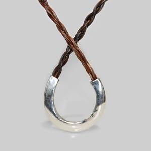 Halskæde af hestehår | Hestesko