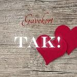 Gavekort | Tak