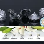 Lås med 0.05 ct diamant