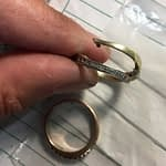 Ny ring af gammelt guld